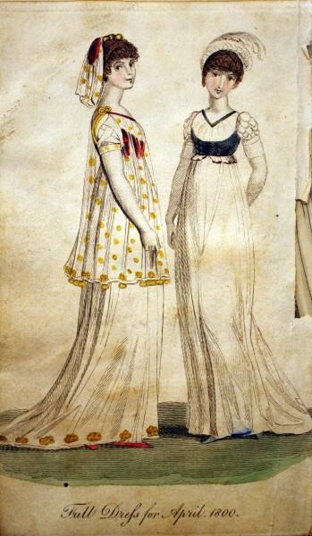 1800 April Dresses