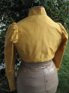 1813 Gold Spencer back view