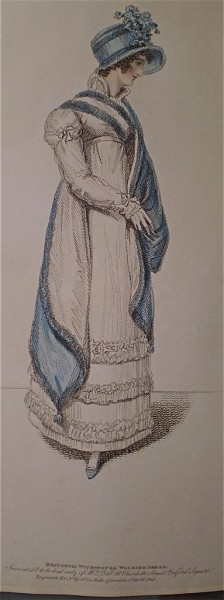 1815 April Britannia Witzchorha Walking Dress