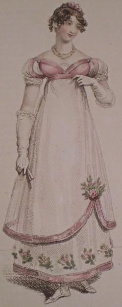 1816 April Evening Dress