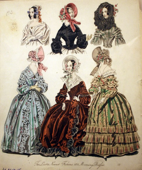 1838 Morning Dresses