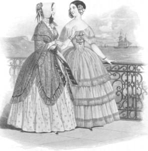 1844 La Mode plate