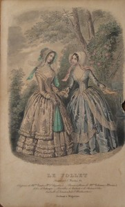 Early 1850s Le Follet plate