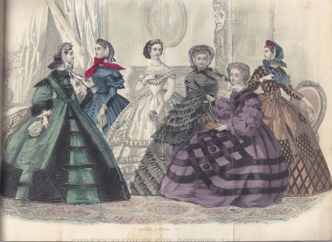 1861 October Godey's Lady's Book