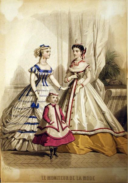 1869 Le Moniteur de la Mode
