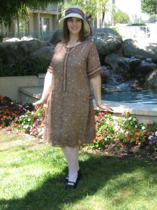 1922 Brown Day Dress
