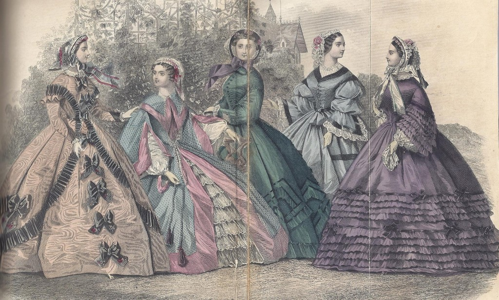1861 September, Godey's Lady's Book