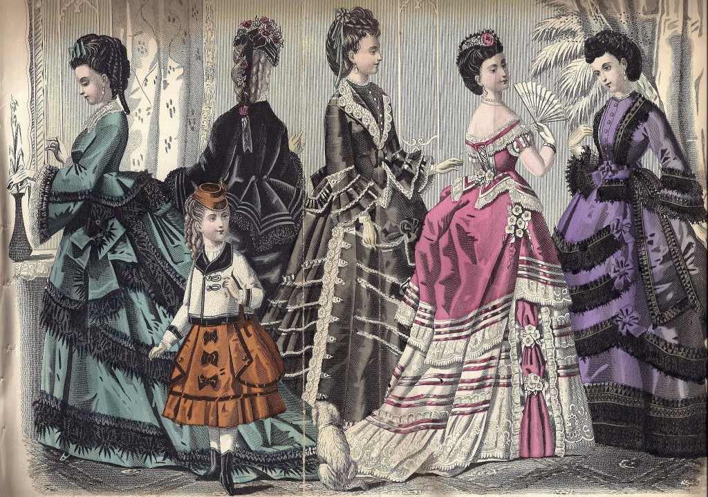 1872 March Godey's Lady's Book