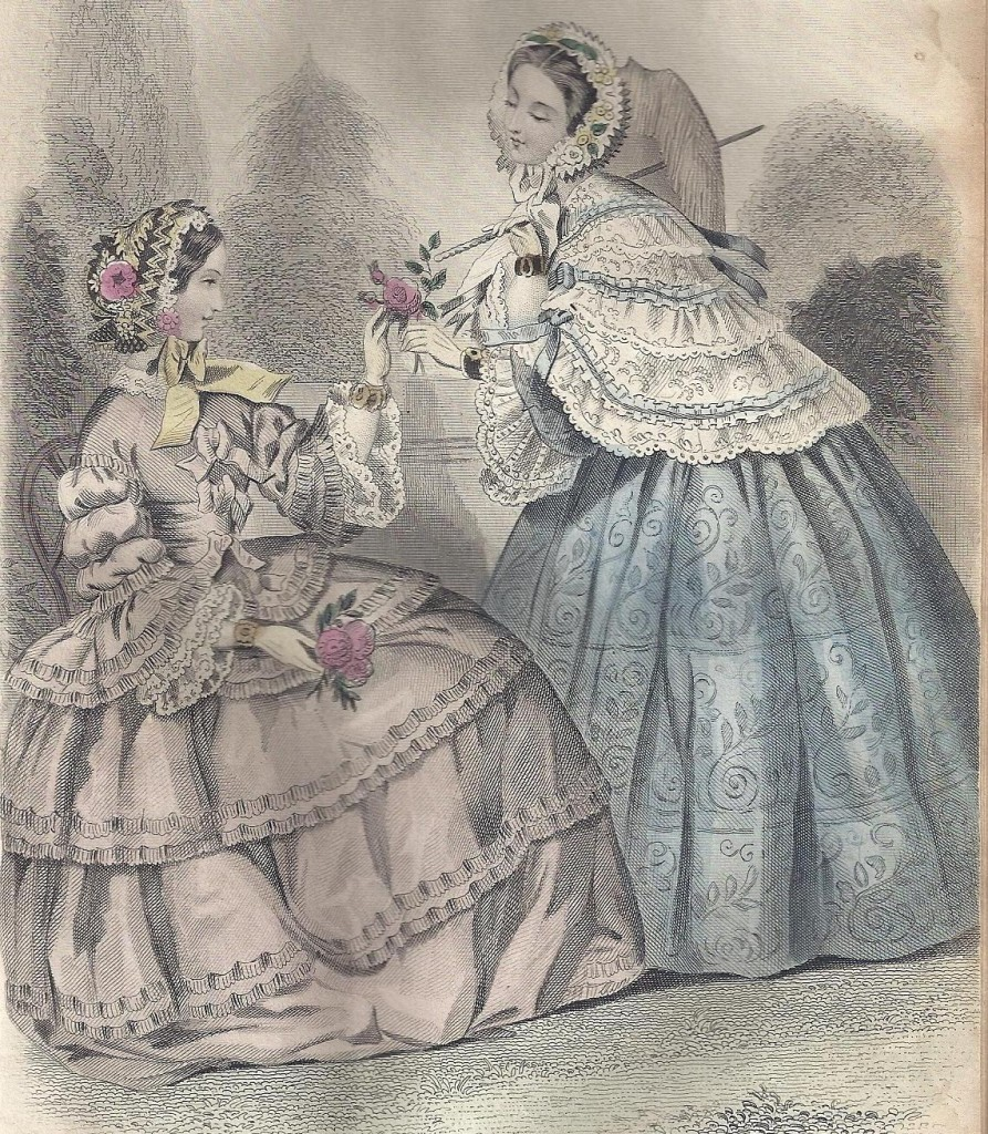 1855 June, Godey's Lady's Book