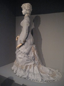 1880 Silver Dinner Dress