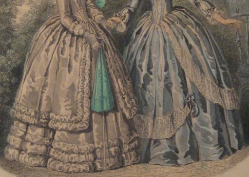 Early 1850s Skirts