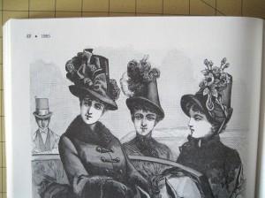 Inspiration plate from La Mode Illustree