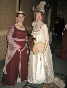 Jen -Medieval & Lauren -1790s