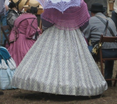 Lampshade Shaped Hoopskirt