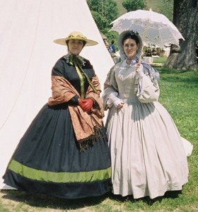 Wool & Cotton Civil War Dresses