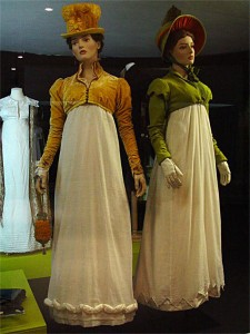 Costumes from the film Persuasion