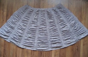 Ruched Apron Front