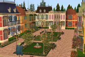 Sims Victorian Town